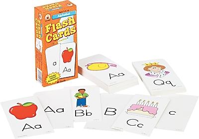 Carson-Dellosa Publishing Flash Cards for Grades K-6, 80/pack (CD-3907)