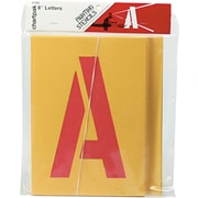 "Chartpak Painting Stencil Set, 3"" Capital Letters & Numbers"