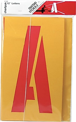 Chartpak Painting Stencil Set, 12