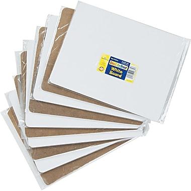 Chenille Kraft Dry Erase Student Boards, Plain White, 9