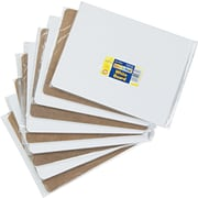 "Chenille Kraft Dry Erase Student Boards, Plain White, 9"" x 12"", 10/St"