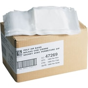 Reclosable Small Parts Bags, 6 x 9, 1000 Bags/Carton