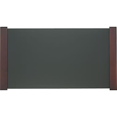 Carver Wooden Desk Pad, Mahogany Finish