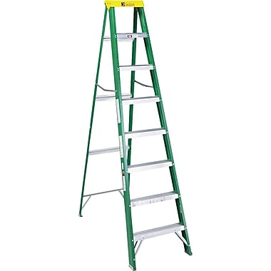 United Stationers Fiberglass Step Ladder, 96