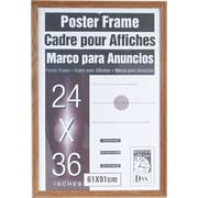 Dax Plastic Poster Frame with Plexiglas Window, 24 x 36