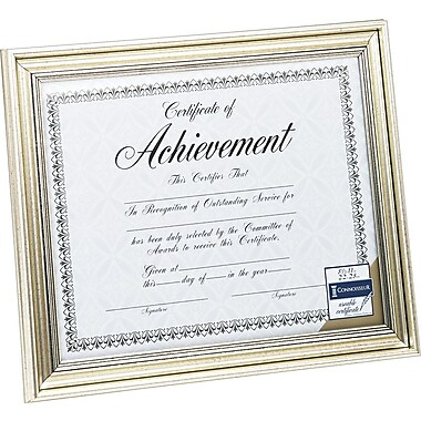 DAX Document Frame, Antique Silver, 8 1/2