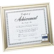 "DAX Document Frame, Antique Silver, 8 1/2"" x 11"""
