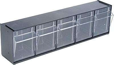 //.staples-3p.com/s7/is/  sc 1 st  Staples & Deflecto® Tilt Bin™ Multipurpose Storage and Organization 5-Bin ...