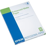 "Epson Ink Jet PhotoPaper, LETTER-size, Matte, 8 1/2"" x 11"", 50 Sheets/Pk"