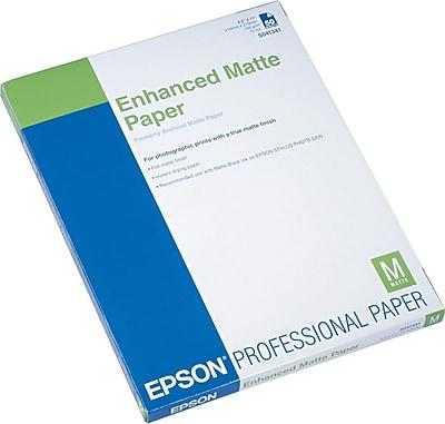 Epson Ink Jet PhotoPaper, LETTER-size, Matte, 8 1/2