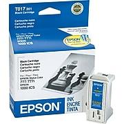 Epson T017 Black Standard Yield Ink Cartridge