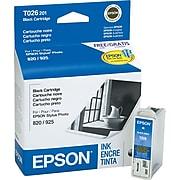 Epson T026 Black Standard Yield Ink Cartridge