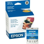 Epson Ink Cartridge, T027 (T027201), Color, Value Pack
