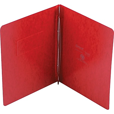 Pendaflex PressGuard® Report Cover with 2-Piece Fastener, Executive Red, 8 1/2