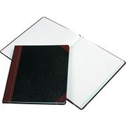 "Faint Rule Columnar Book, 150 Pgs, 12-3/8""x10-3/8"", Black"