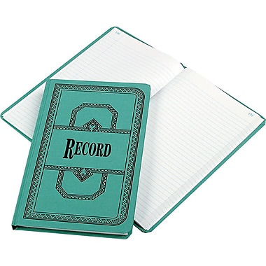 Boorum & Pease® Record Book, 35 Lines/Page, Record Ruling
