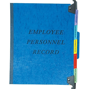 Pendaflex® Personnel Folders, Hanging Style, Blue