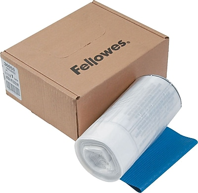 Fellowes® Waste Bags for Fellowes®® 99Ms/90S/99Ci/HS-440 Shredders, 100/Box