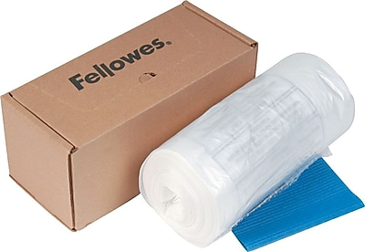 Fellowes® Waste Bags for Fellowes®® 325 Series Shredders, 50/Box