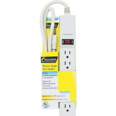 Fellowes 6-Outlet Power Strip