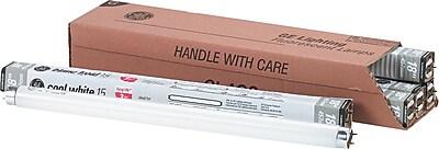 GE Starcoat® T8 Fluorescent Light, 15 Watt, Cool White, 6/Pk