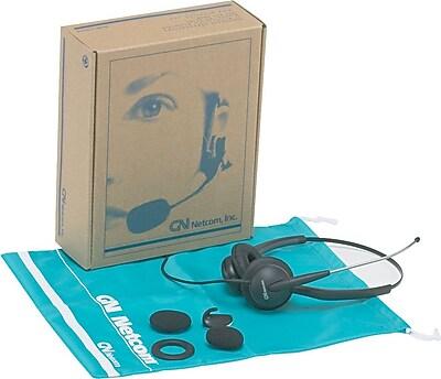 GN Netcom 2115ST SoundTube Binaural Headset, Tops Headband Style