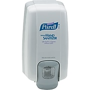 Purell NXT Push-Style Space Saver Sanitizer Dispenser, Dove Gray (2120-06)