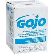 GOJO Liquid Lotion Skin Cleanser Refill, Liquid, 800 mL Bag