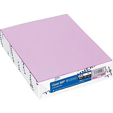 Hammermill® Fore® 102269 Multipurpose Super-Premium Paper, Lilac, 8 1/2