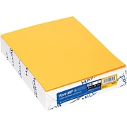 "Recycled Fore® MP Color Paper, Goldenrod, 8 1/2"" x 11"", 20 lb., 500 Sheets/Rm"