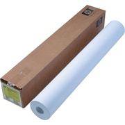 "HP Designjet Large Format Paper for Inkjet Printers, 36"" x 300 ft, Bright White, 300/Roll (C6810A)"
