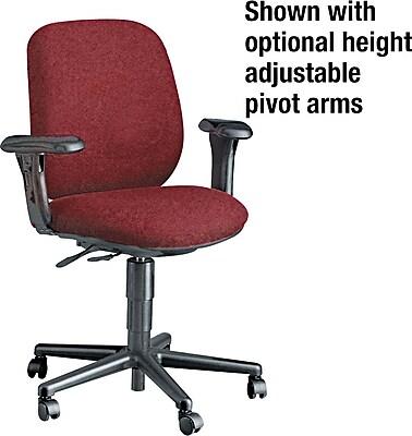 HON® HON7703AB62T 7700 Series Fabric Office Chair, Burgundy