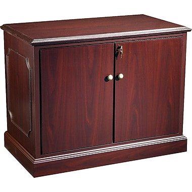 HON® 94000 Series 94000 Series Cabinet, Adjustable Shelf, Mahogany