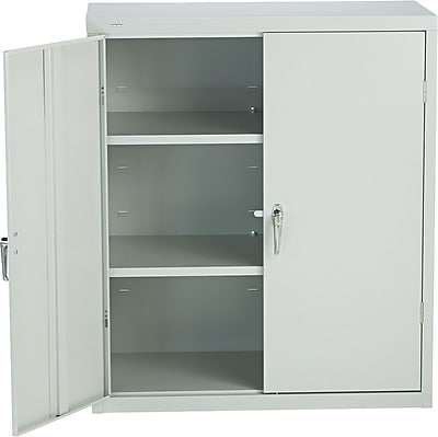 HON® Brigade®, 3-Shelf Assembled Storage Cabinets, 42