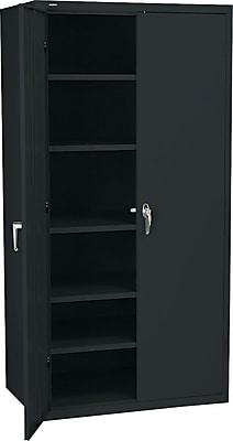 HON Brigade Storage Cabinet, 5 Adjustable Shelves, 24-1/8