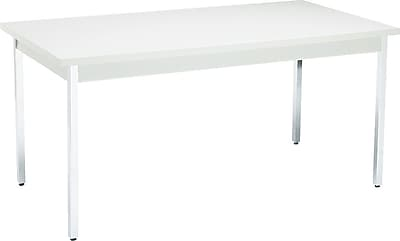 HON 30''Lx60''D Rectangular Utility Table, Gray/Gray (HONUTM3060QQCHR)
