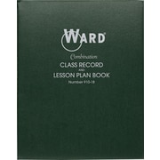 Ward® Combination Record and Plan Book, Green (910-18)