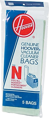 Hoover® Commercial PortaPower™ Disposable Vacuum Bags, 5/Pack