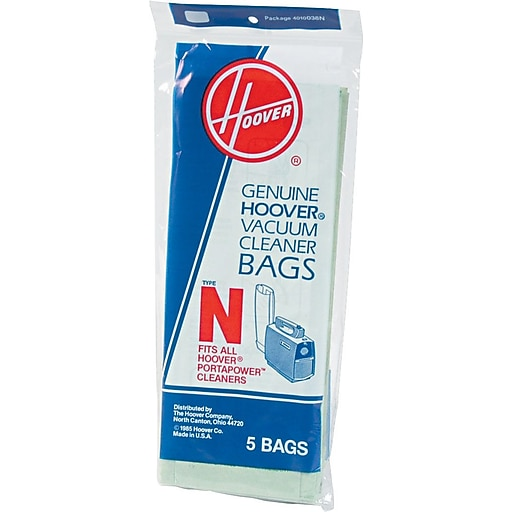Hoover Commercial Porta Disposable Vacuum Bags 5 Pack