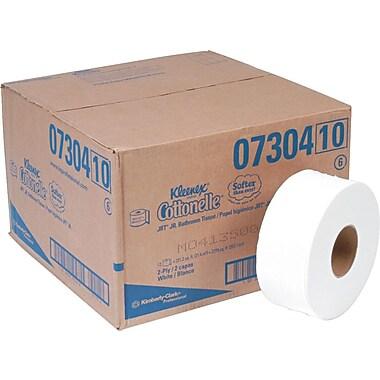 Kleenex® Cottonelle® Jumbo Toilet Paper (JRT) Jr. Roll, 12 Rolls/Case, 750'/Roll (07304)