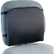 Kensington® Memory Foam Back Rest Support, Adjustable Straps, Black (82025)