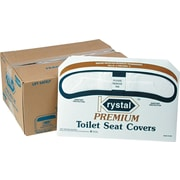 Krystal™ Premium Toilet Seat Covers, 2500/Carton
