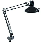 Ledu Incandescent/Fluorescent Clamp-On Lamp, Black