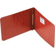 "ACCO Pressboard Report Cover Side Bound, Red, 2 3/4"" centers, Specialty size 5 1/2"" x 8 1/2"""