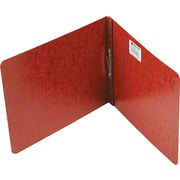 "Acco Report Covers with Fasteners, 2 3/4"" c. to c.: 2"" Capacity, 8-1/2"" x 11"", Pressboard, Red"