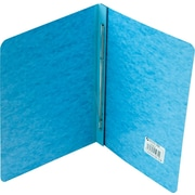"Acco Report Covers with Fasteners, 8 1/2"" c. to c.: 3"" Capacity, 8 1/2"" x 11"", Pressboard, Lt Blue"