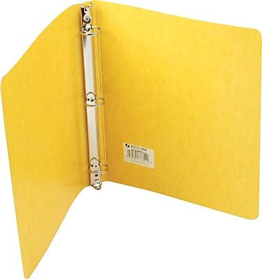 Wilson Jones PRESSTEX® Ring Binder, Yellow, 220 Sheet Capacity, 1