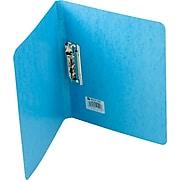 "Wilson Jones PRESSTEX® Grip Binder, Light Blue, 125-Sheet Capacity, 11"" x 8 1/2"", 5/8"" (Ring Diameter)"