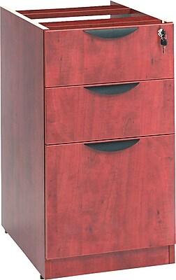 15 7//8w X 20 1//2d X 28 3//8h Mahogany Alera VA572816MY Valencia Mobile B//b//f Pedestal File