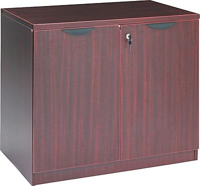 Alera Valencia Storage Cabinet, Mahogany, 29 1/2